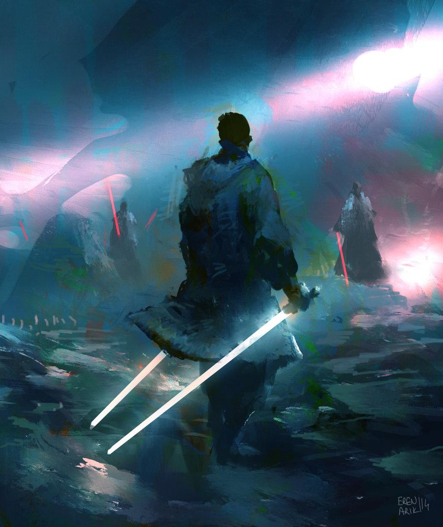 Jedi Master by Eren Arik (deviantArt)