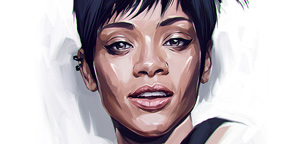 Stunning celebrities portraits by Viktor Miller-Gausa