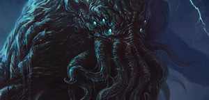 TentaclesandTeeth – Cthulhu Oil Painting