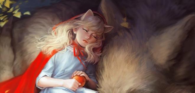 Amanda Schank – Red & Wolf
