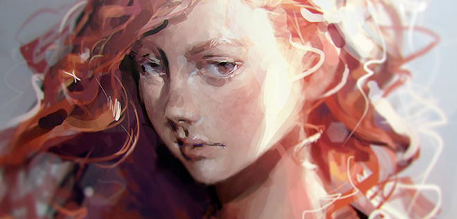 Beautiful digital paintings by Camila Vielmond