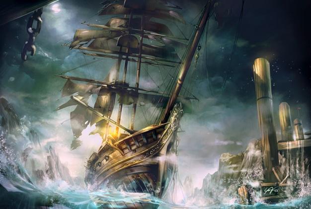 Kevin KY Yan - Plague Ship Sails into Korvosa