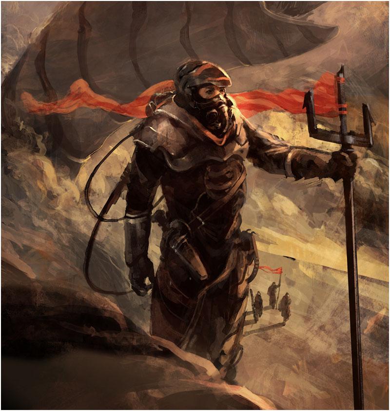 Dune Fremen Concept Art