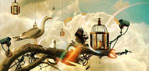 Les oeuvres colorées de Mike Karolos