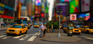 Tilt-shift photography by Noa Emberson