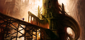 Astonishing illustrations by Marc Simonetti