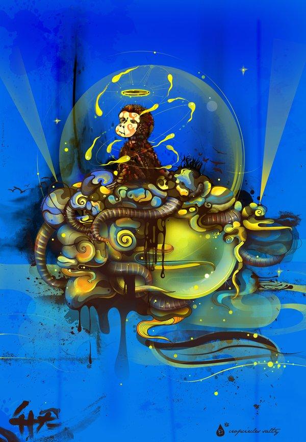 monkey_gone_to_heaven_by_saltyshadow