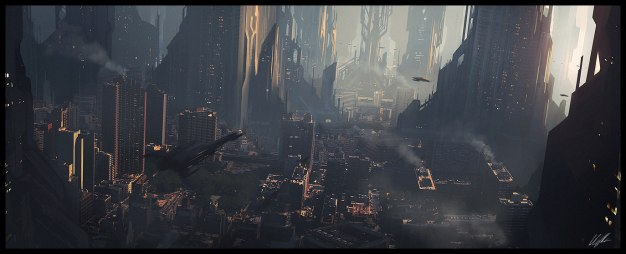 Scifi_city_speed_2_by_AndreeWallin