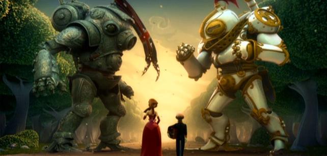 Short Animation Film #33 : A gentleman's Duel