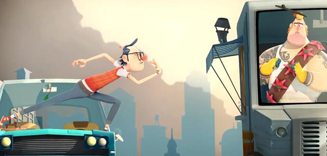 Short Animation Film #35 : Salesman Pete