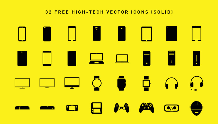 hightech-icons-solid