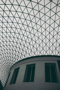 British Museum – Great Court roof