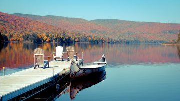 Autumn in Mont Tremblant, Canada
