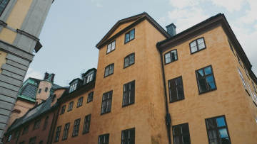 Old building in Stockholm