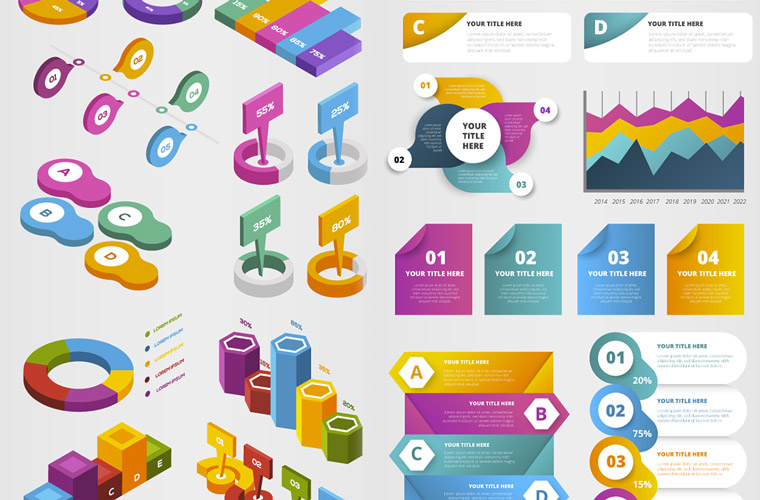 Infographicset Affiche